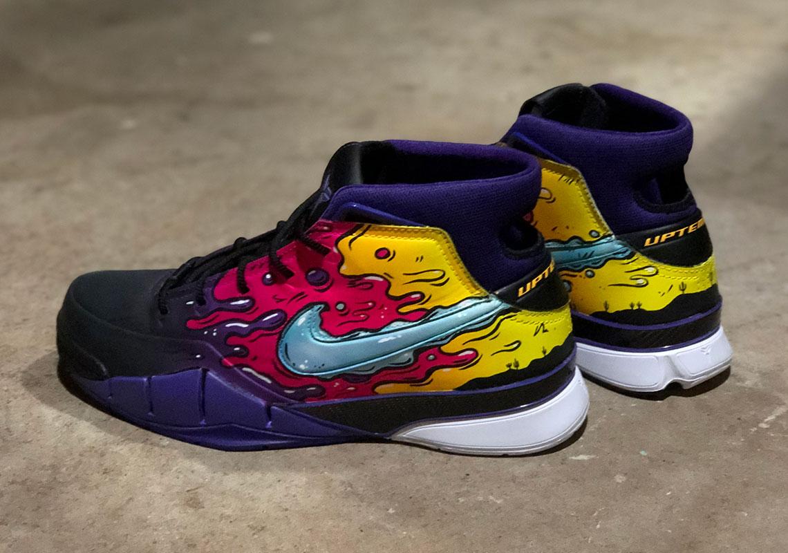 Devin Booker Custom Nike Zoom Kobe 1