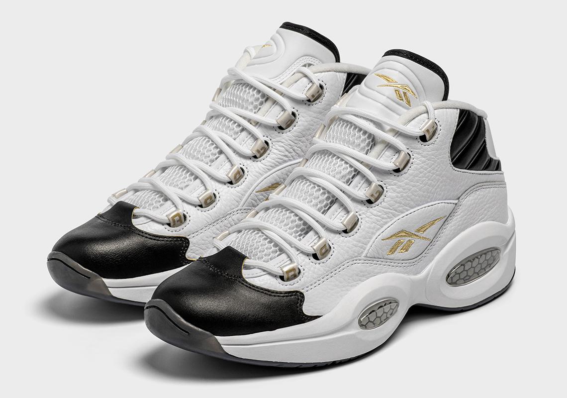 escucha Los invitados fricción  Reebok Question Respect My Shine White Gold   SneakerNews.com