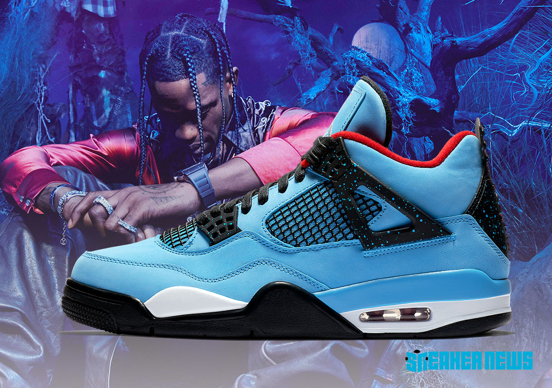 Travis Scott Nike Jordan History Shoes