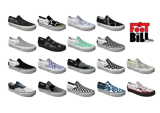 "Vans Supports Independent Skateshops During COVID-19 Crisis With ""Foot The Bill"" Customization Program"