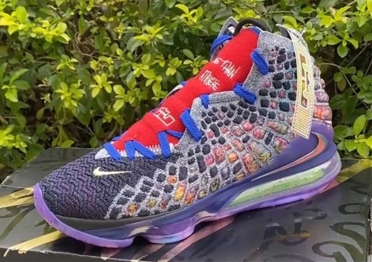 First Look At The What The Nike LeBron 17
