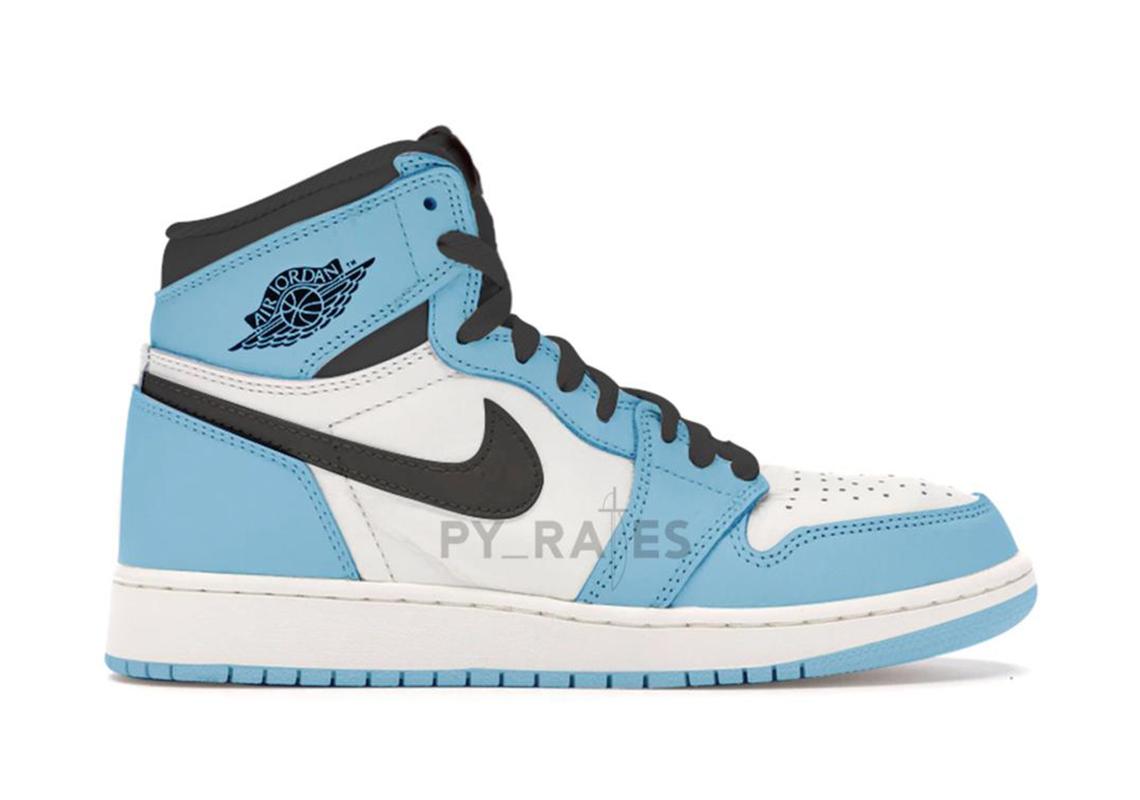 air jordan 1 blu e bianche
