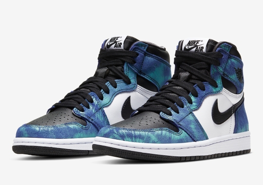 "Official Images Of The Women's Air Jordan 1 ""Tie-Dye"""