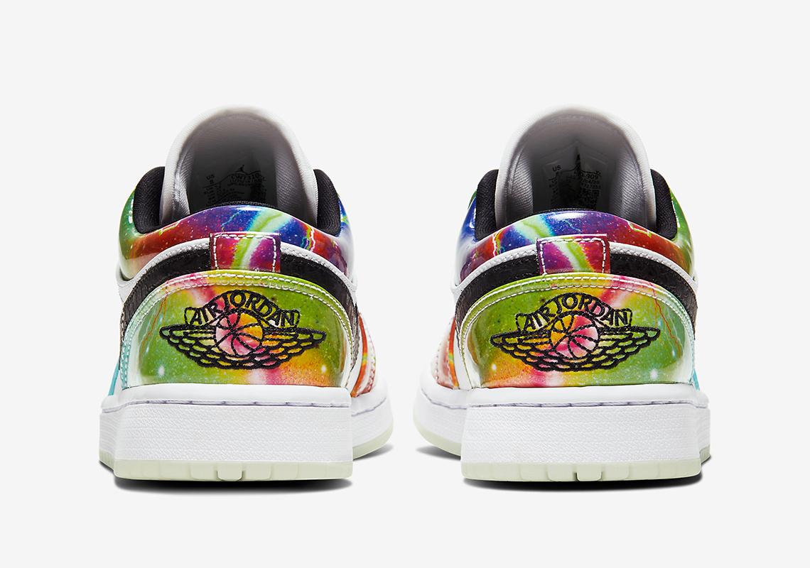 "Air Jordan 1 Low Receives Alternate ""Galaxy"" Colorway: Photos"