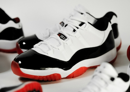 "The Air Jordan 11 Low ""Concord Bred"" Releases This Weekend In Europe"