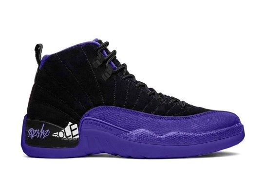 "The Air Jordan 12 ""Dark Concord"" Arrives In October"