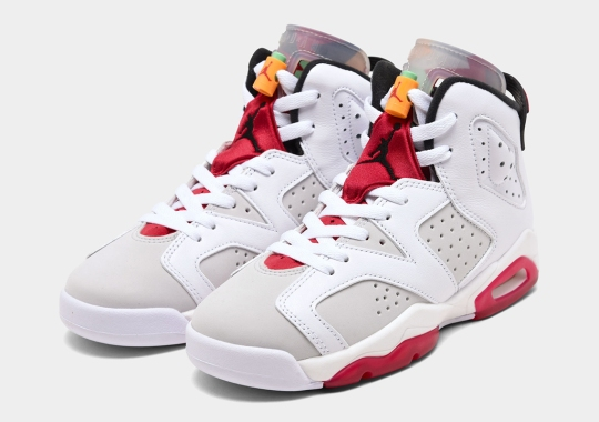 """The Air Jordan 6 """"Hare"""" Will Be Available In Full Family Sizes"""