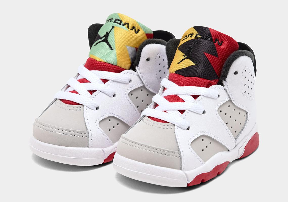 Air Jordan 6 Hare 2020 Full Family