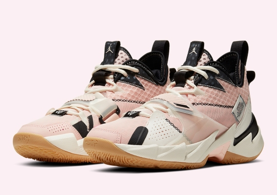 The Jordan Why Not Zer0.3 Dresses Up In Washed Coral