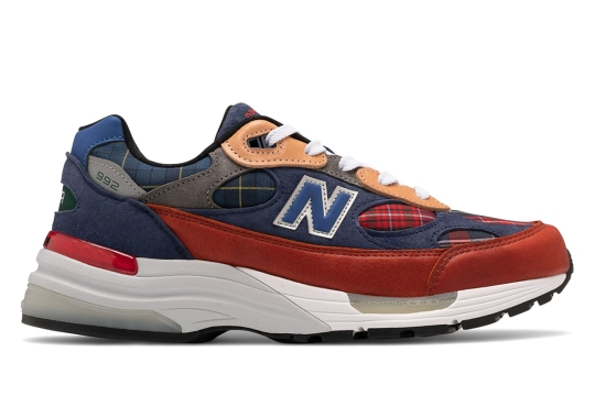 New Balance Adds Plaid Patchwork To The 992
