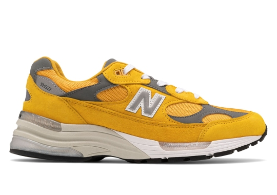 The New Balance 992 Delivers A Bright Yellow Colorway