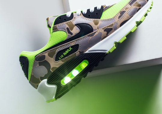 "The Nike Air Max 90 ""Green Duck Camo"" Releases Tomorrow"