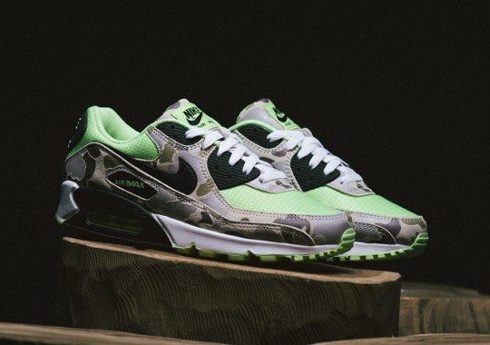 "Where To Buy The Nike Air Max 90 ""Green Duck Camo"""
