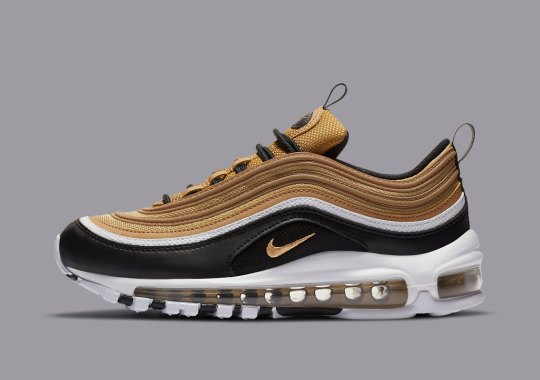 Black And Gold Make A Return To The Nike Air Max 97 GS