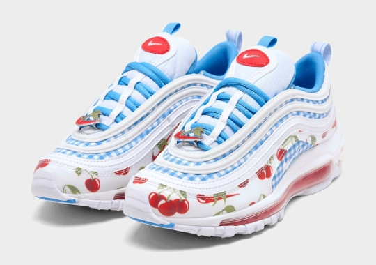 """The Kid's Nike Air Max 97 """"Cherry"""" Is Now Available"""