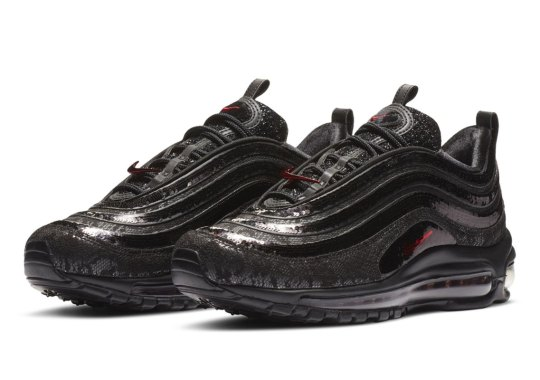 Nike Covers This Women's Air Max 97 In Black Lace And Sequin