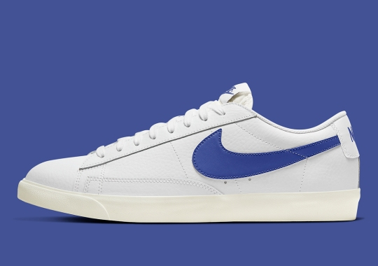"""Nike Applies """"Astronomy Blue"""" Accents To The Blazer Low"""