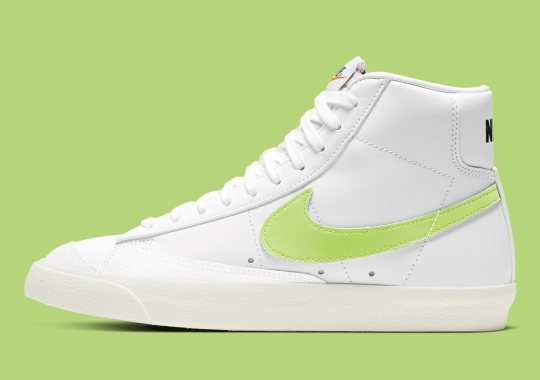"This Nike Blazer Mid '77 Is Barely ""Volt"""