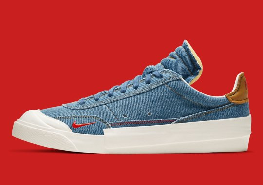 The Nike Drop Type Gets Dressed In A Canadian Tuxedo
