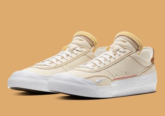 The Nike Drop Type Returns With Ecru Denim Uppers