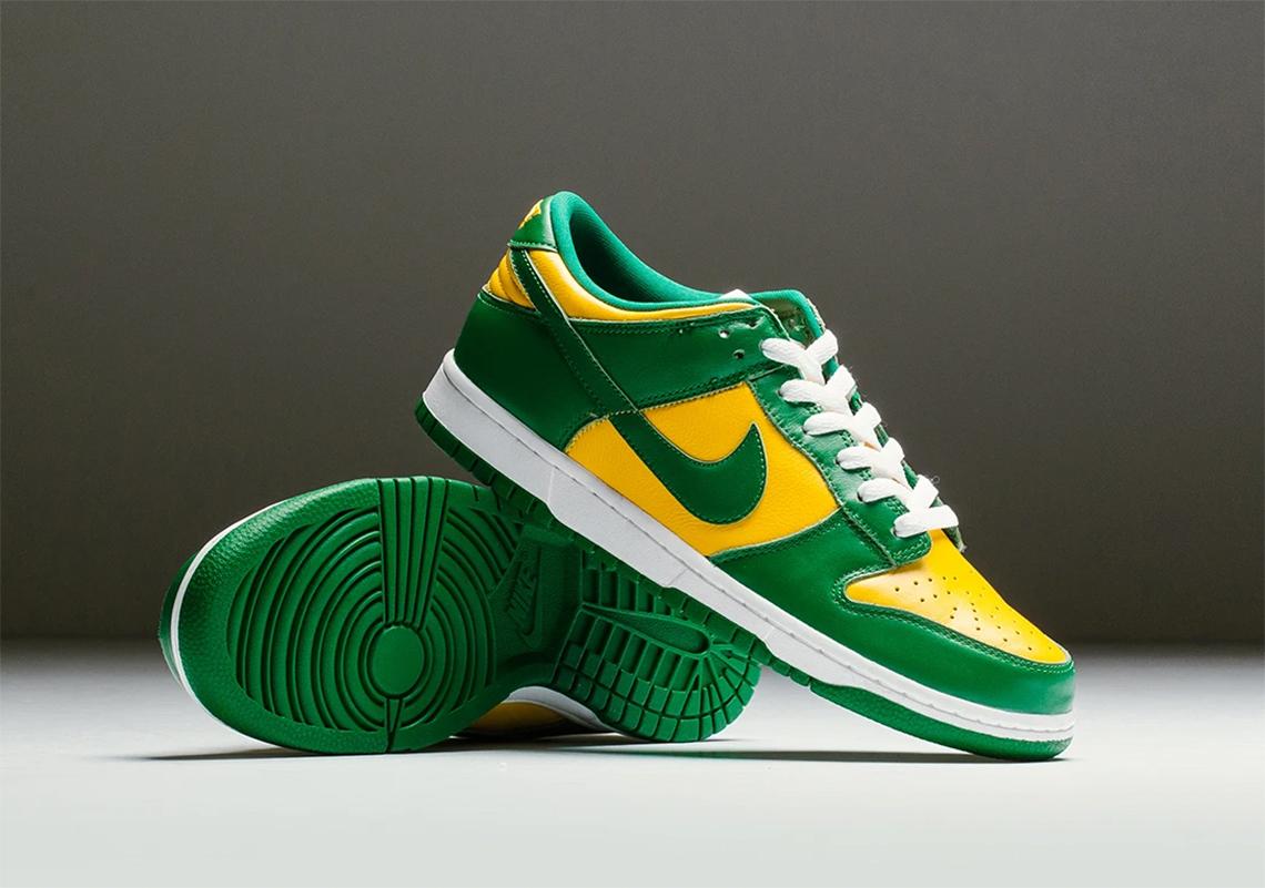 Tom Audreath Responder piel  Nike Dunk Low Brazil 2020 Release Guide | SneakerNews.com