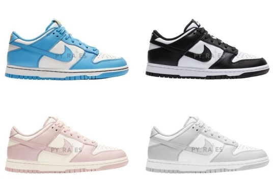 Nike To Release A Pack Of Women's Dunk Lows In 2021