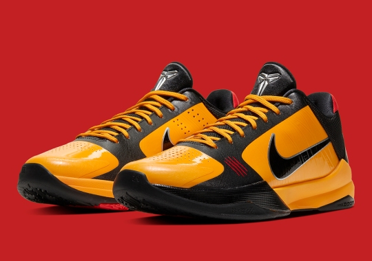 "Official Images Of The Nike Kobe 5 Protro ""Bruce Lee"""