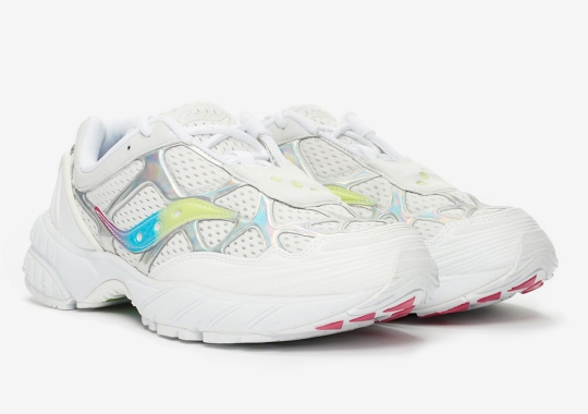 Saucony Catches On The Iridescent Wave With The Grid Web