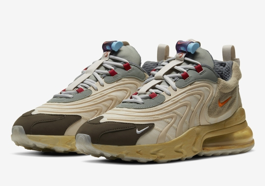 "Where To Buy The Travis Scott x Nike Air Max 270 React ""Cactus Trails"""