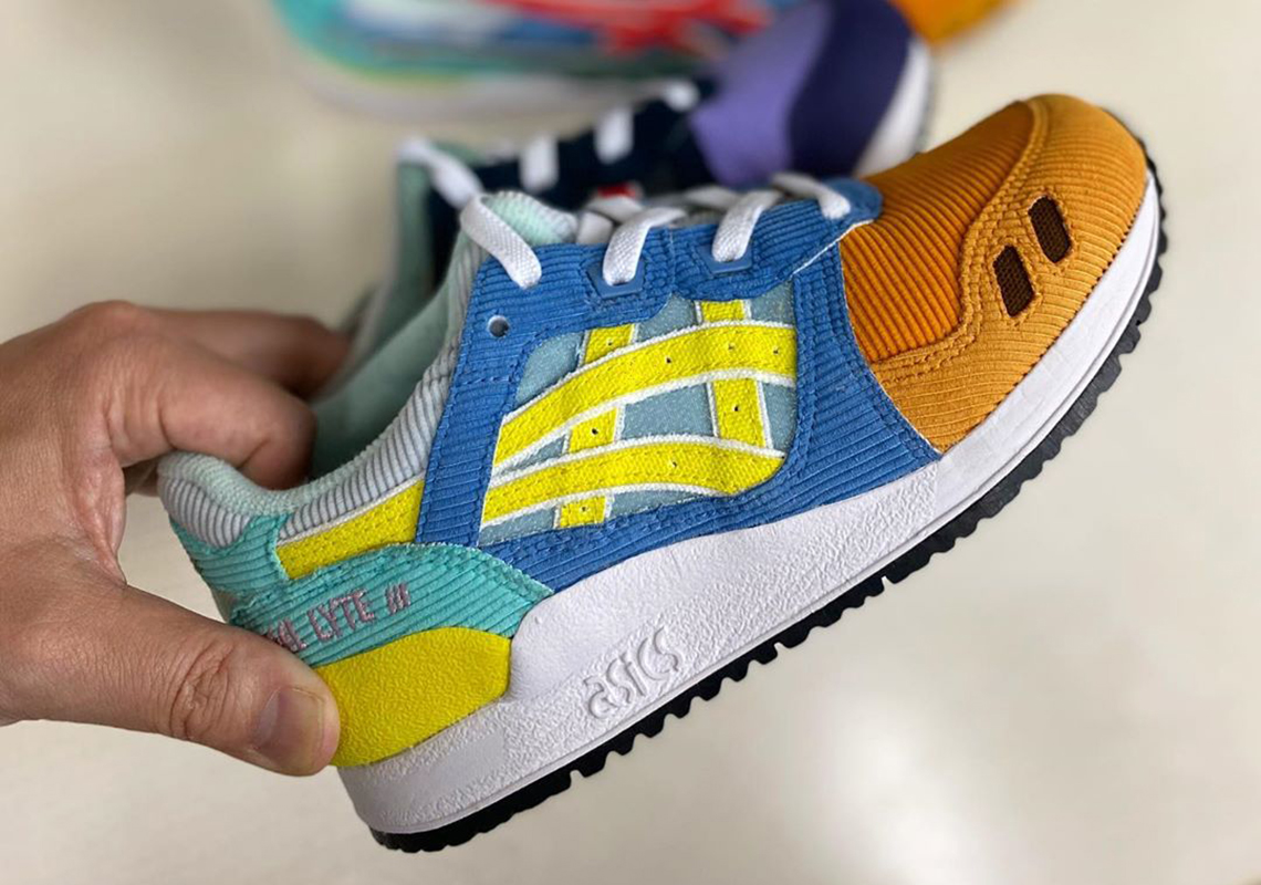 Wotherspoon atmos ASICS GEL Lyte III Kids Release Info ...