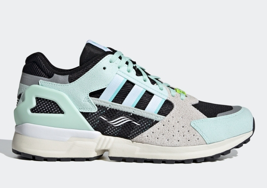 The Updated adidas ZX 10.000C Returns In A Minty Green