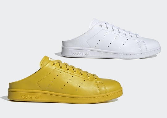 adidas Bridges Footwear And Loungewear With A Stan Smith Mule