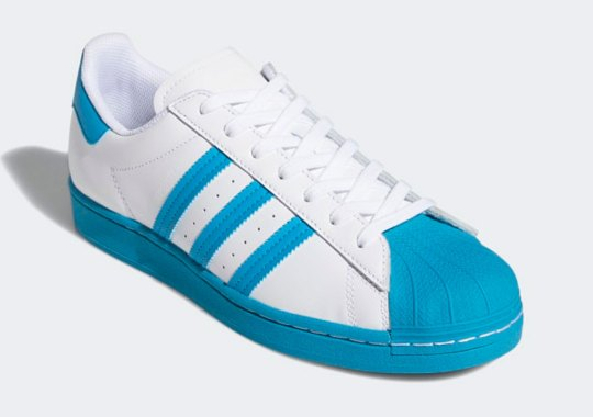 """The adidas Superstar """"Aqua Toe"""" Set To Arrive On May 15th"""