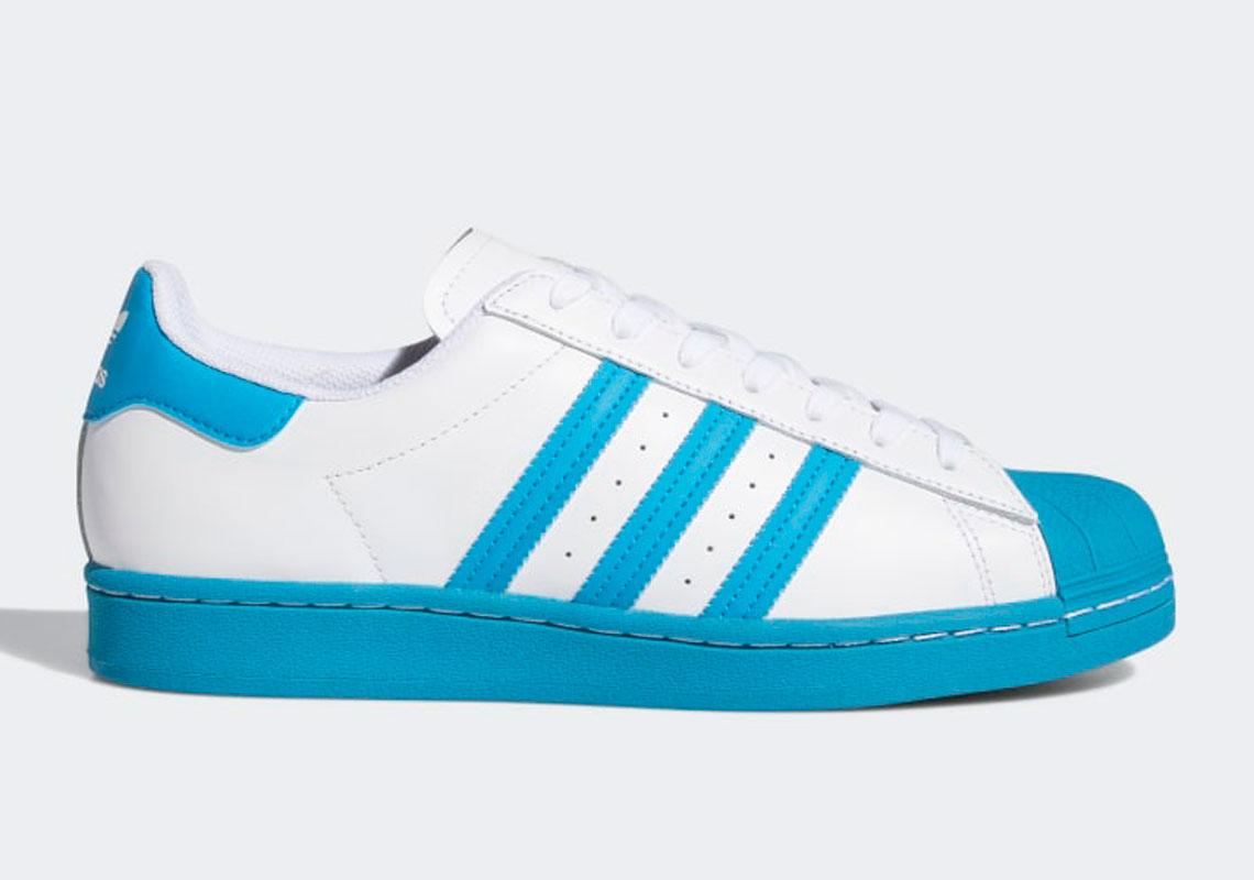 adidas Superstar Bold Aqua FY2756