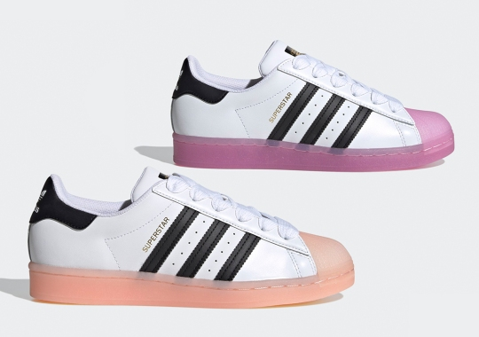 adidas Adds A Jellied Shelltoe To The Superstar