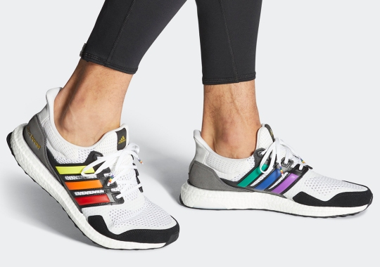 adidas Celebrates Pride Month With This Color-Striped Ultra Boost S&L