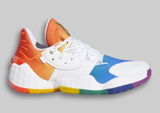 "adidas Expands Their 2020 ""Pride Pack"" With The Harden Vol. 4"