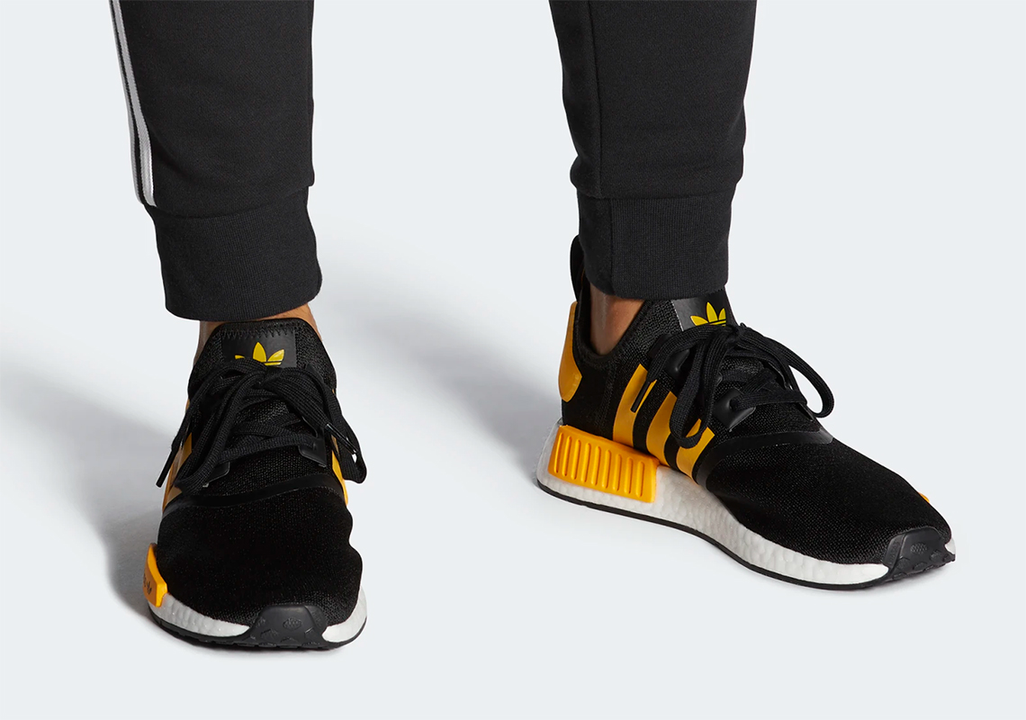 Adidas Nmd R1 Black Gold Fy9382 Release Date Sneakernews Com