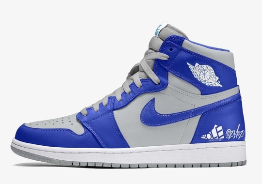 "Air Jordan 1 High ""Hyper Royal"" Is Set For A Spring 2021 Arrival"