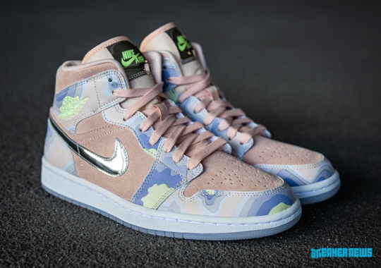 """Space-Themed Air Jordan 1 """"P(HER)SPECTIVE"""" Dropping Exclusively At Foot Locker Inc. And Nike"""
