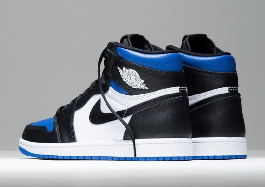 """The Air Jordan 1 """"Royal Toe"""" Has Released"""