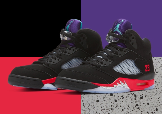 "Official Images Of The Air Jordan 5 ""Top 3"""