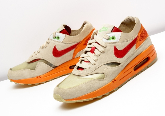 "CLOT x Nike Air Max 1 ""Kiss Of Death"" The Return In 2021"