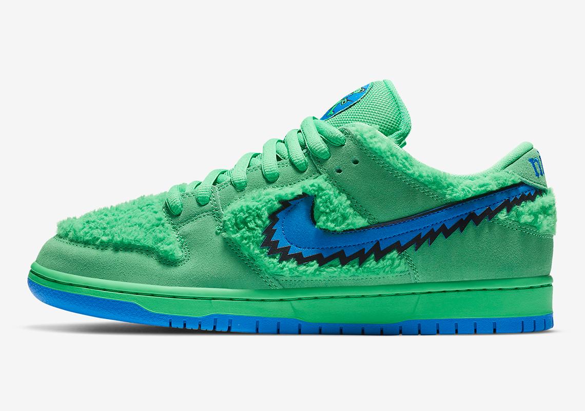 Grateful Dead Nike SB Dunk Green CJ5378