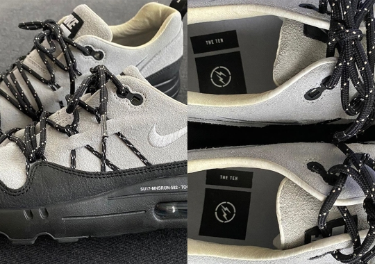 "Hiroshi Fujiwara, Whose ""The Ten"" Collaborations Were Scrapped In Favor Of Virgil Abloh, Reveals An Air Max 1 Sample"