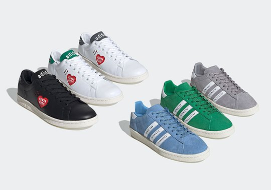Human Made And adidas Prepare An Expansive Stan Smith And Campus Capsule