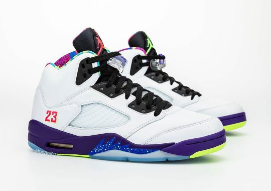 "Best Look Yet At The Air Jordan 5 ""Bel-Air"" Alternate"