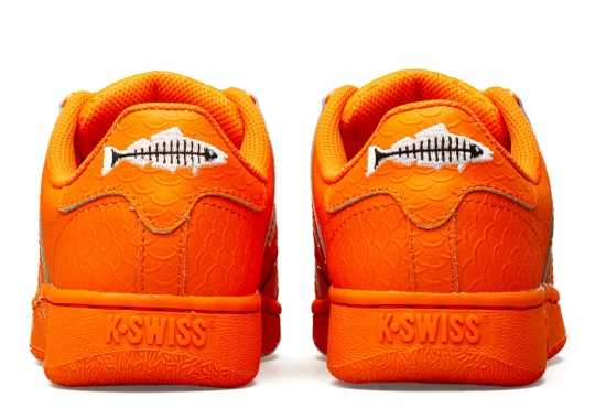K-Swiss And Heal the Bay Join Forces for Orange Garibaldi-Inspired Sneaker
