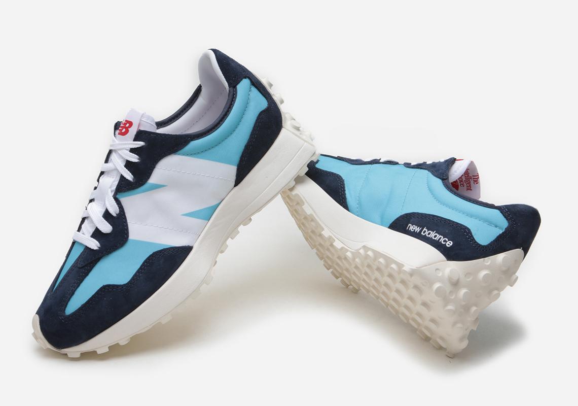 New Balance 327 Wax Blue - Release Date   SneakerNews.com