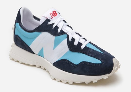 "The New Balance 327 Is Releasing Soon in ""Wax Blue"""